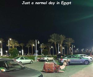 normal day in egypt