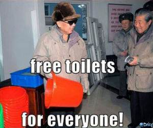 Free Toilets funny picture