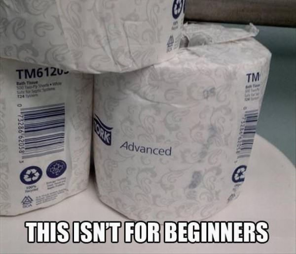 Not For Beginners funny picture