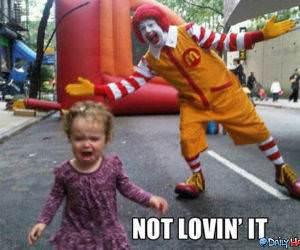 Not Loving It funny picture