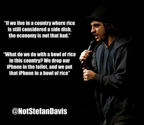 Economy Not That Bad funny picture