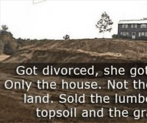 not the land