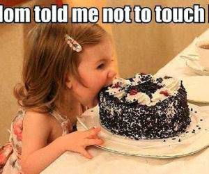 No Touching It funny picture