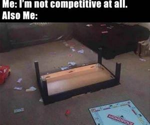 not competitive at all funny picture