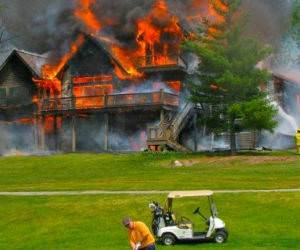 Must Golf Today funny picture