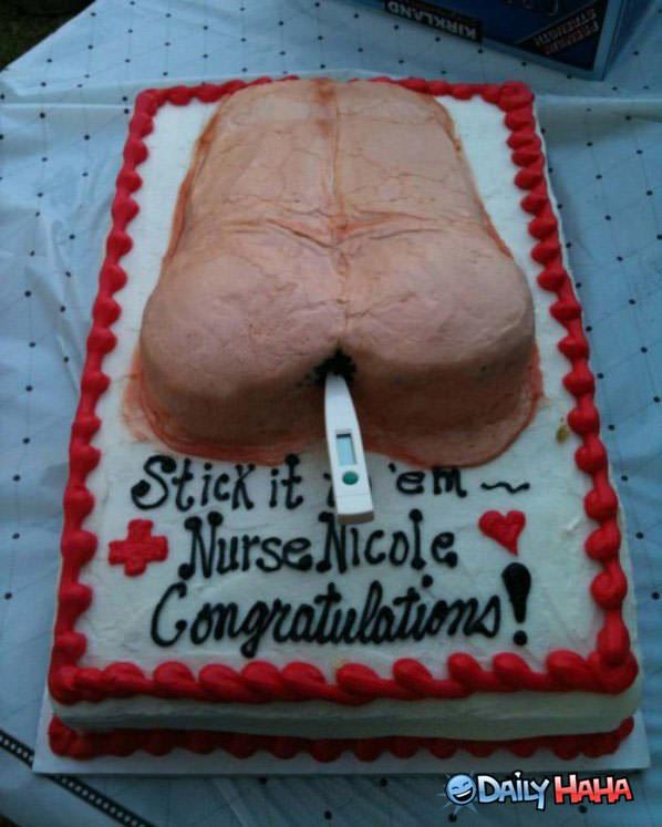 Funny Nurse Graduation Cakes