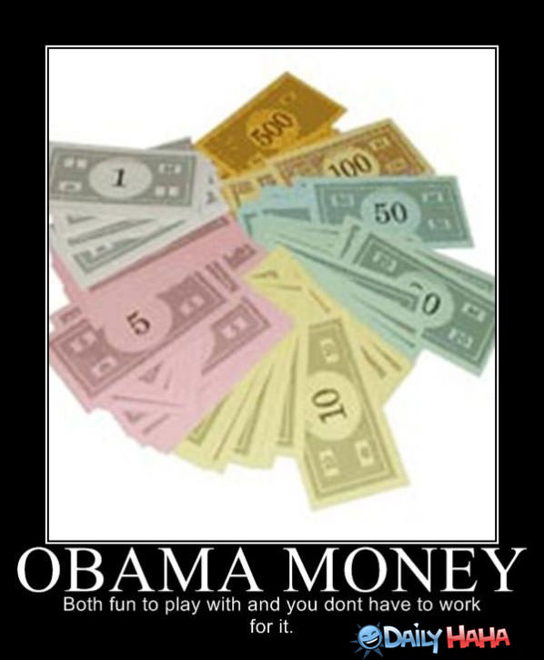 Obama Money funny picture