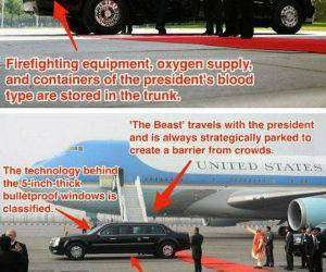 obamas ride funny picture
