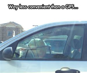 old school gps funny picture