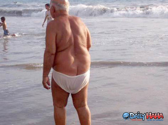 Old Man Speedo