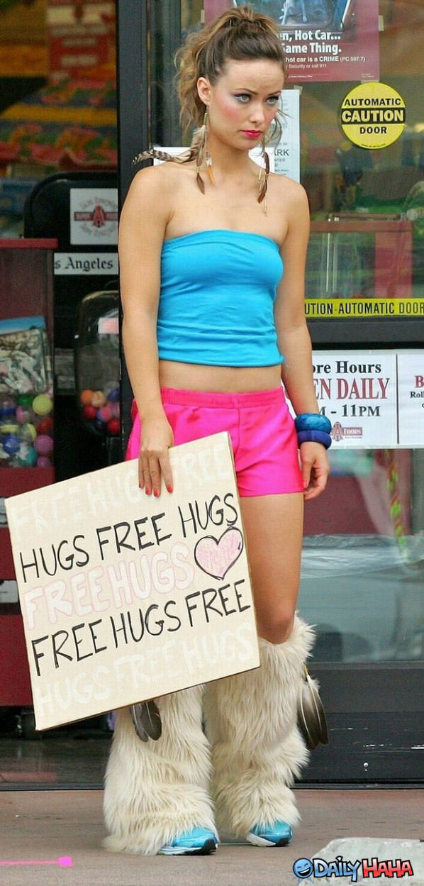 Free Hugs funy picture