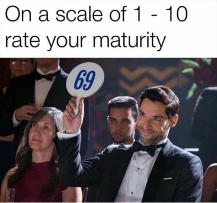on a scale of 1 to 10