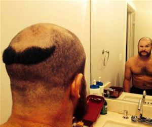 one hell of a haircut funny picture