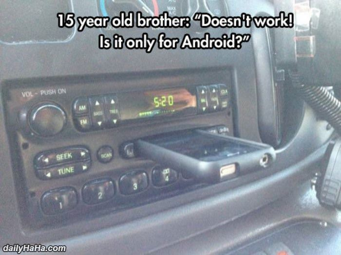 only for android funny picture