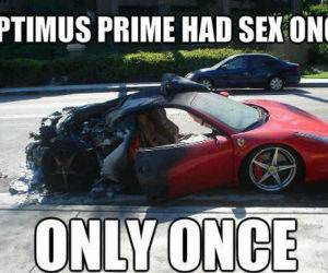 Optimus Prime funny picture