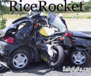 Crotch Rocket vs Compact Car