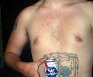 Pabst Blue Ribbon funny picture