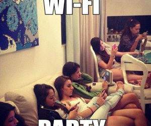 Girls Party Hard funny picture