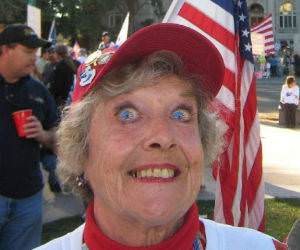 Patriotic Woman