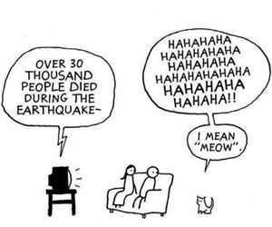 people died in the earthquake funny picture