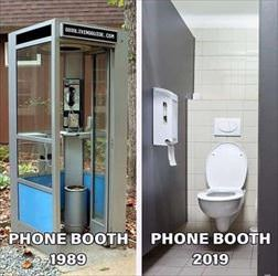 phone booths have changed