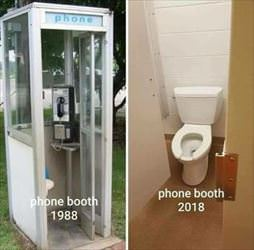phone booths sure have changed