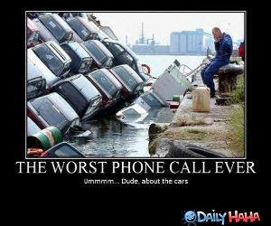 Phone Call funny picture