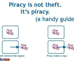 Piracy is Piracy
