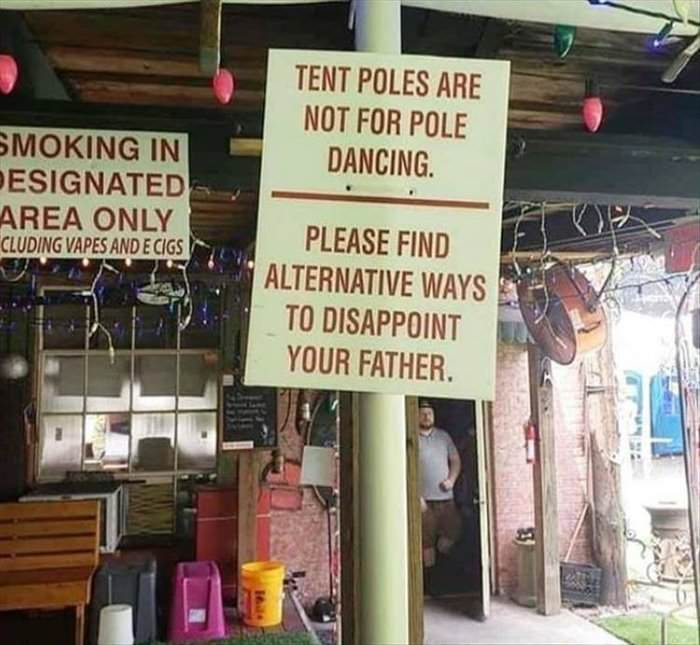 please find other ways