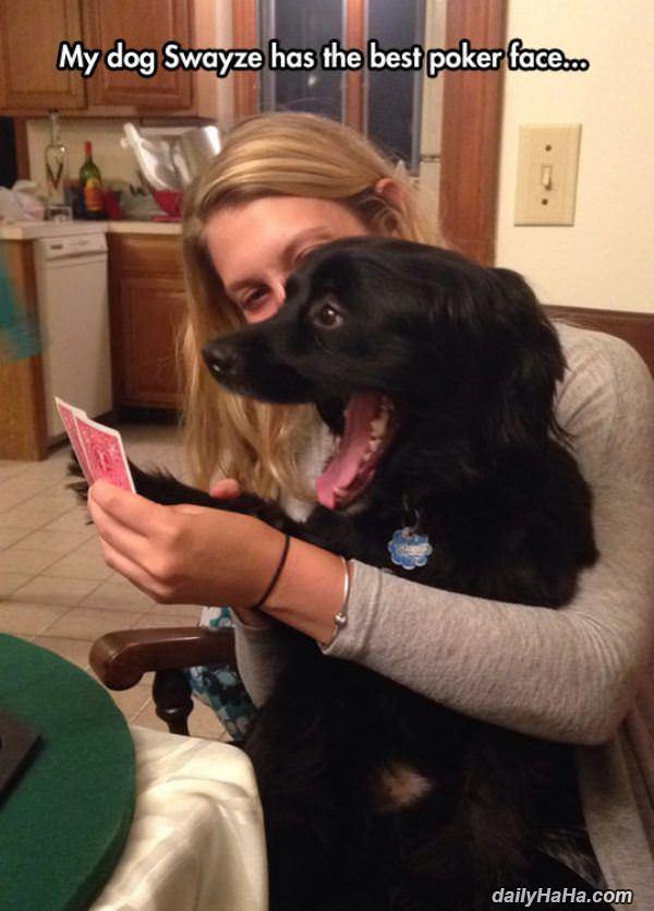 funny poker face