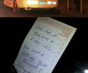 Police Parking funny picture
