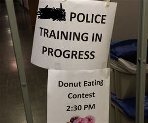 police training funny picture