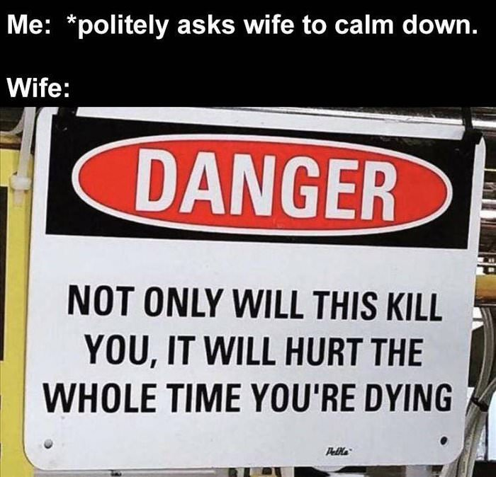 politely asking