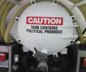 political promises funny picture