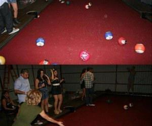 pool bowling funny picture