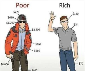 poor vs rich