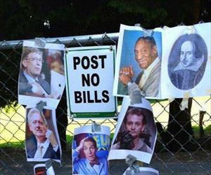 post no bills ... 2