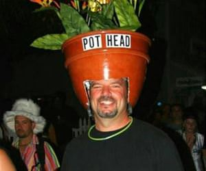 pot head funny picture