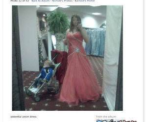 Potential Prom Dress funny picture