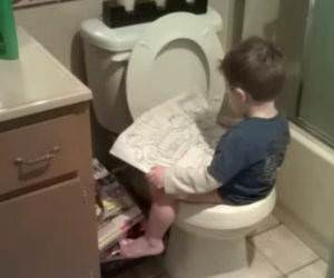 Potty Training funny picture