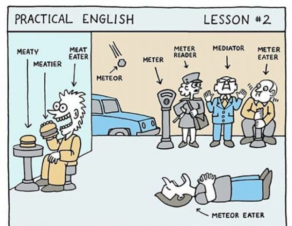 Practical English funny picture