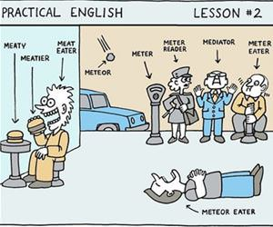 practical english lesson funny picture