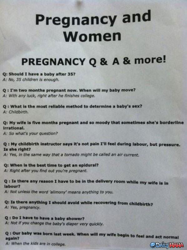 Pregnancy funny picture