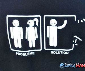 Problem Solved funny picture