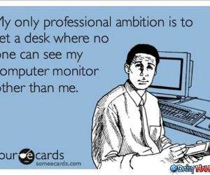 Professional Ambition funny picture