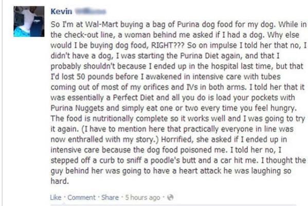 The Purina Diet funny picture