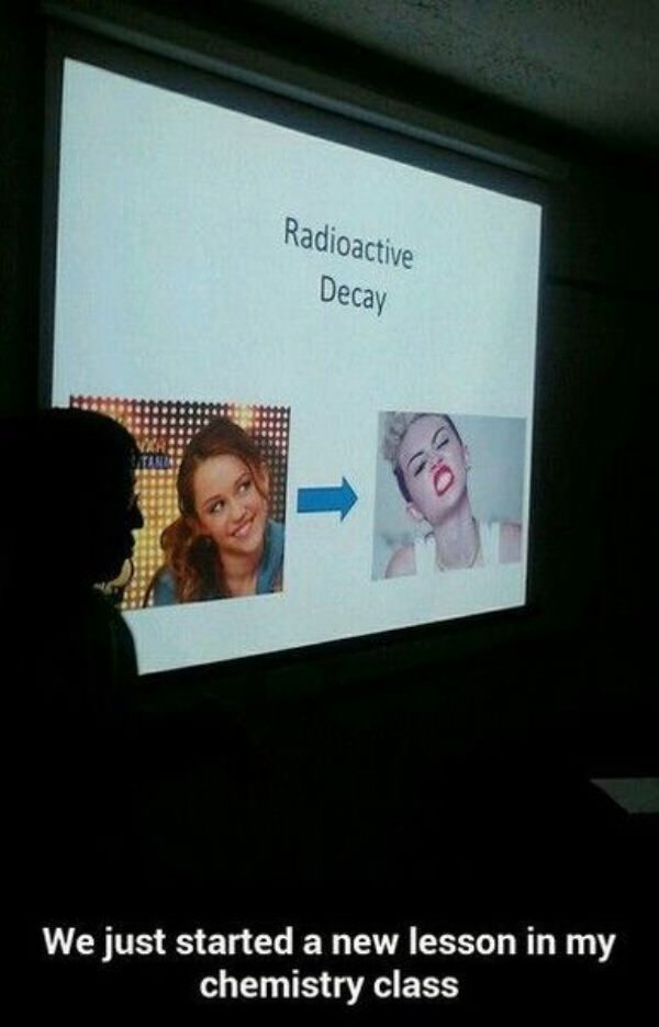 Radioactive Decay funny picture