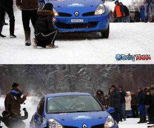 Rally Car funny picture