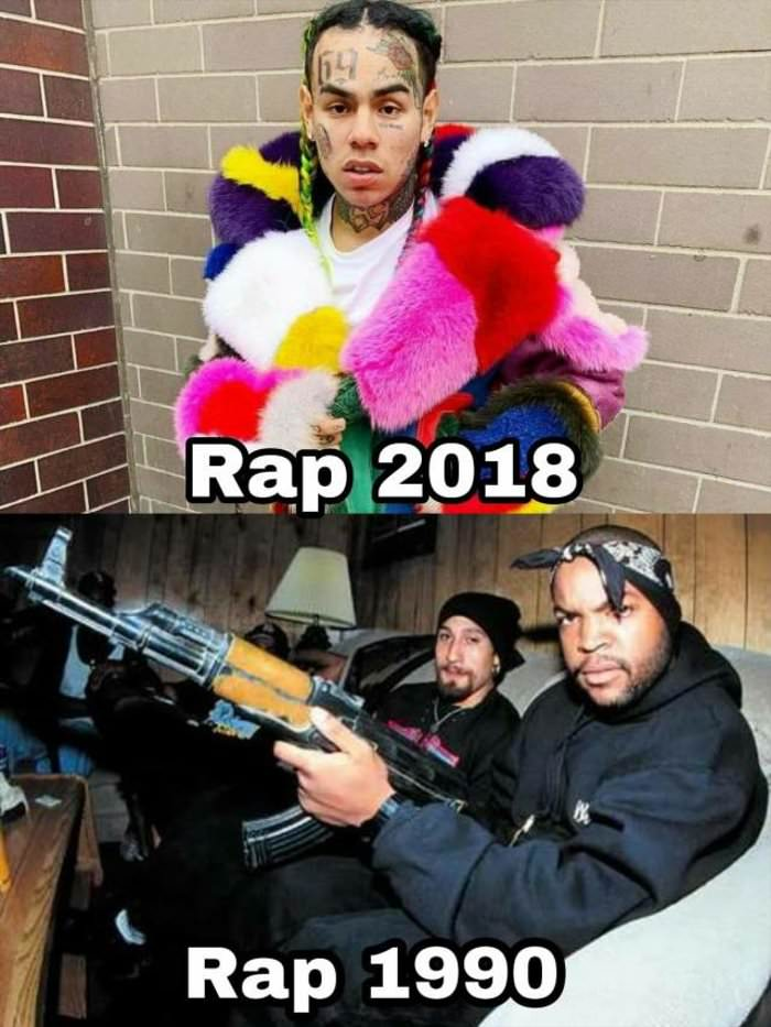 rap has changed