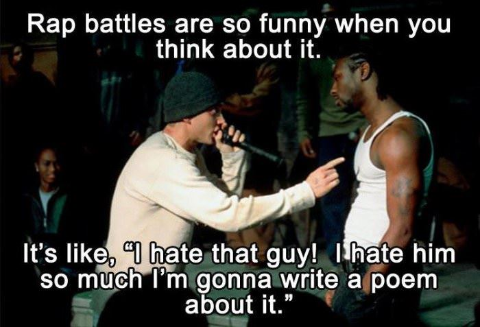 rap battles funny picture